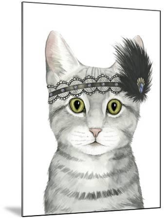 Downton Cat III-Grace Popp-Mounted Art Print