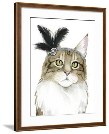 Downton Cat IV-Grace Popp-Framed Art Print