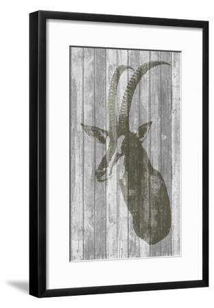 Rustic Bust II-Jennifer Goldberger-Framed Premium Giclee Print