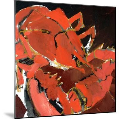 Abstract Lobster V-Erin McGee Ferrell-Mounted Art Print