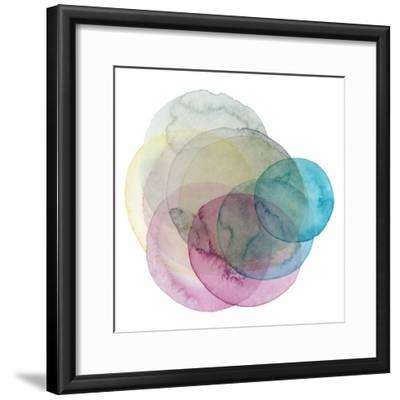 Evolving Planets II-Grace Popp-Framed Art Print