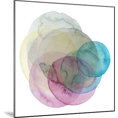 Evolving Planets II-Grace Popp-Mounted Art Print