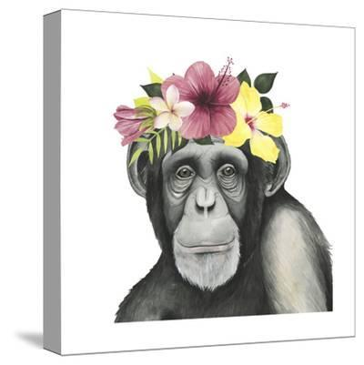 Tropical Halo V-Grace Popp-Stretched Canvas Print