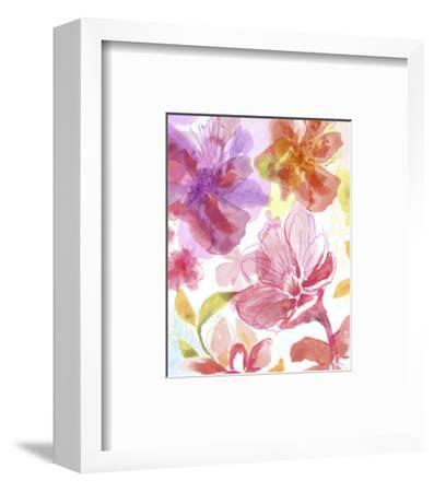 Blossoms in the Sun III-Delores Naskrent-Framed Art Print