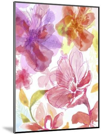 Blossoms in the Sun III-Delores Naskrent-Mounted Art Print