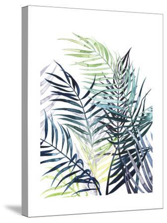 Twilight Palms I-Grace Popp-Stretched Canvas Print