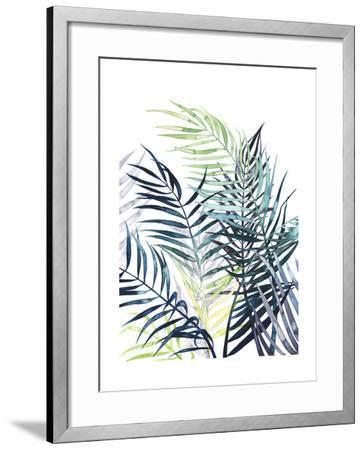 Twilight Palms I-Grace Popp-Framed Art Print