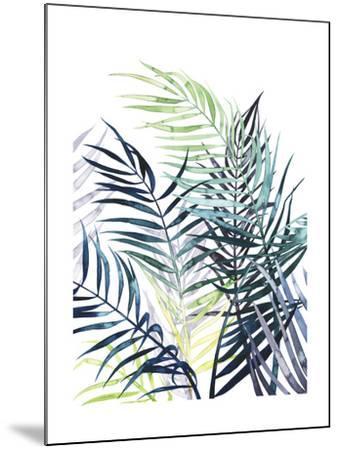 Twilight Palms I-Grace Popp-Mounted Art Print