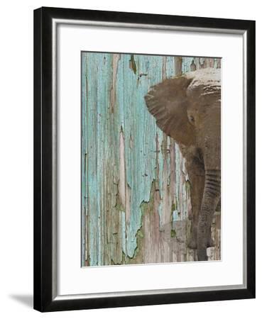 The Elephant II-Irena Orlov-Framed Art Print