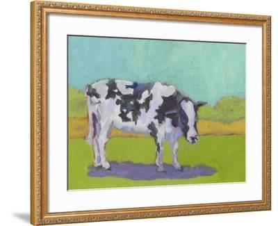 Pasture Cow I-Carol Young-Framed Art Print