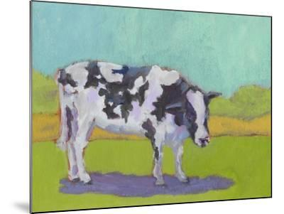 Pasture Cow I-Carol Young-Mounted Art Print