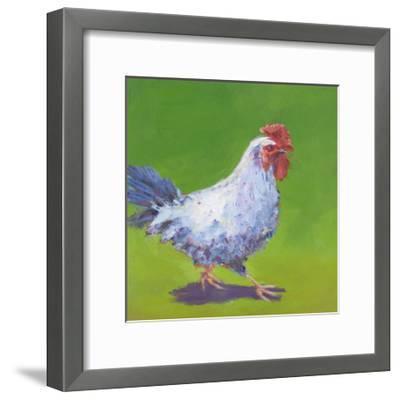Pasture Henrietta I-Carol Young-Framed Art Print