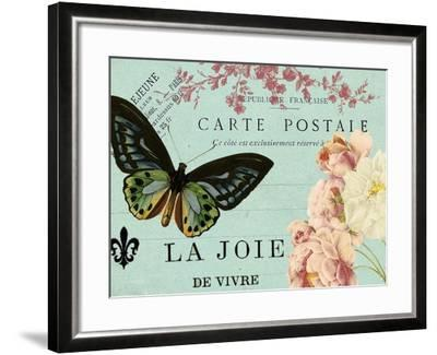 Postcards of Paris IV-Sandy Lloyd-Framed Art Print