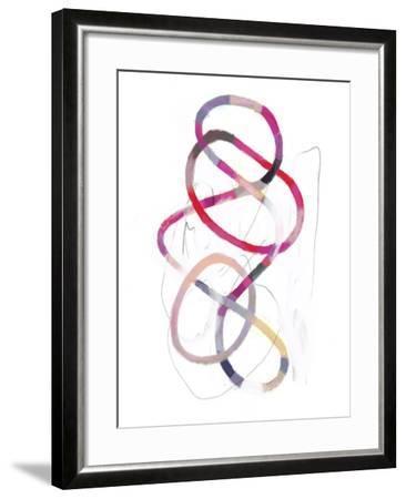 Polychrome Tangle I-Victoria Borges-Framed Art Print