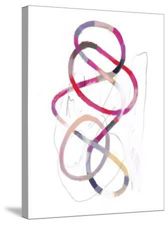 Polychrome Tangle I-Victoria Borges-Stretched Canvas Print