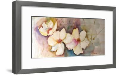 Horizontal Flores VII-Leticia Herrera-Framed Premium Giclee Print