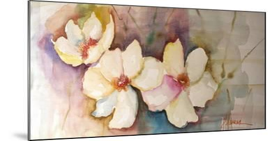 Horizontal Flores VII-Leticia Herrera-Mounted Premium Giclee Print