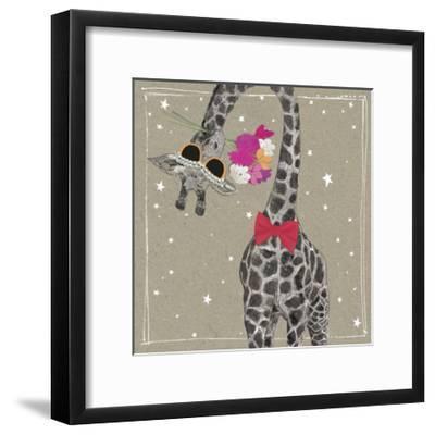 Fancy Pants Zoo VIII-Hammond Gower-Framed Art Print