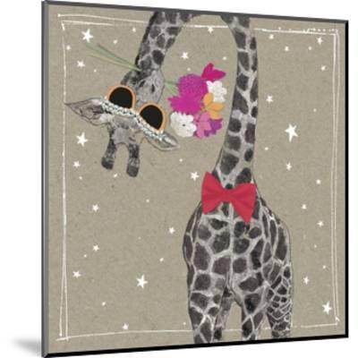 Fancy Pants Zoo VIII-Hammond Gower-Mounted Art Print