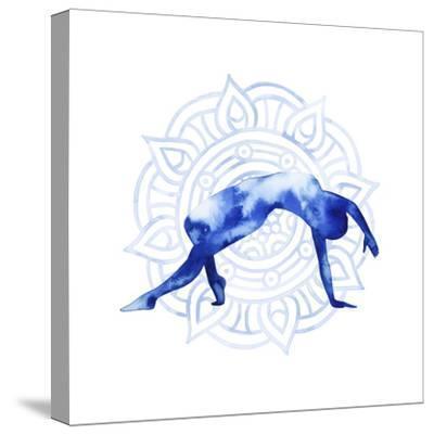 Yoga Flow V-Grace Popp-Stretched Canvas Print