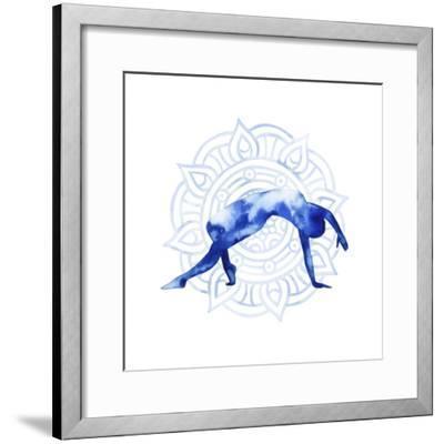 Yoga Flow V-Grace Popp-Framed Art Print