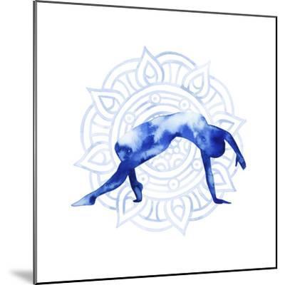 Yoga Flow V-Grace Popp-Mounted Art Print