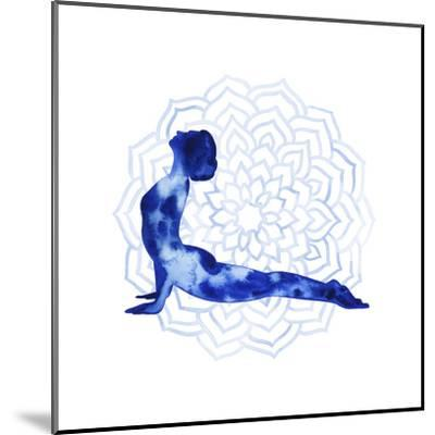 Yoga Flow VI-Grace Popp-Mounted Art Print