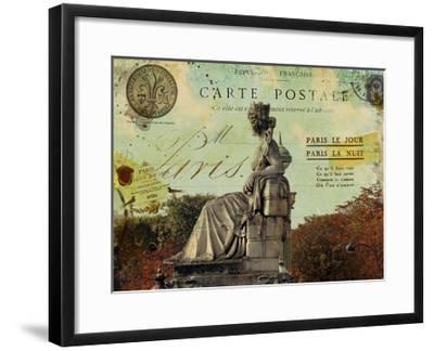 Femme Paris XI-Sandy Lloyd-Framed Art Print