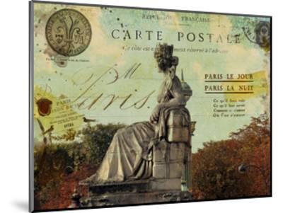 Femme Paris XI-Sandy Lloyd-Mounted Art Print