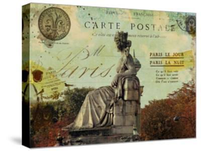 Femme Paris XI-Sandy Lloyd-Stretched Canvas Print