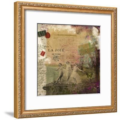 Femme Paris IX-Sandy Lloyd-Framed Art Print