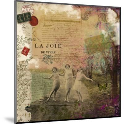 Femme Paris IX-Sandy Lloyd-Mounted Art Print