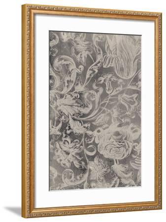 Aged Floral I-Vision Studio-Framed Premium Giclee Print