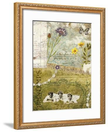 Femme Paris V-Sandy Lloyd-Framed Art Print