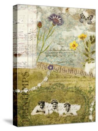 Femme Paris V-Sandy Lloyd-Stretched Canvas Print