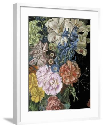 Baroque Floral II-Melissa Wang-Framed Art Print