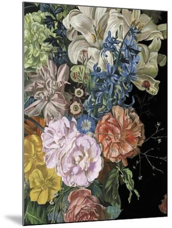 Baroque Floral II-Melissa Wang-Mounted Art Print