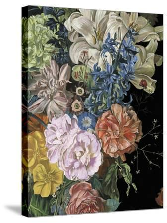 Baroque Floral II-Melissa Wang-Stretched Canvas Print