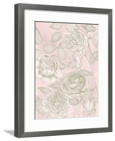 Blooming Roses II-Melissa Wang-Framed Art Print