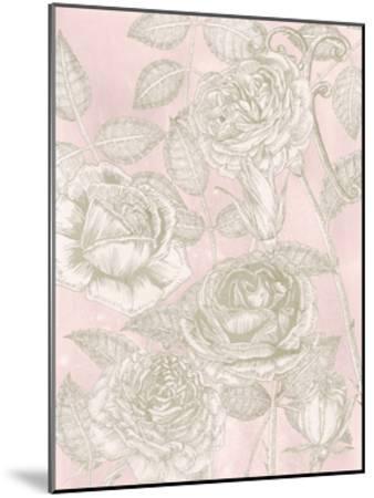 Blooming Roses II-Melissa Wang-Mounted Art Print