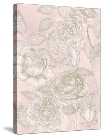Blooming Roses II-Melissa Wang-Stretched Canvas Print