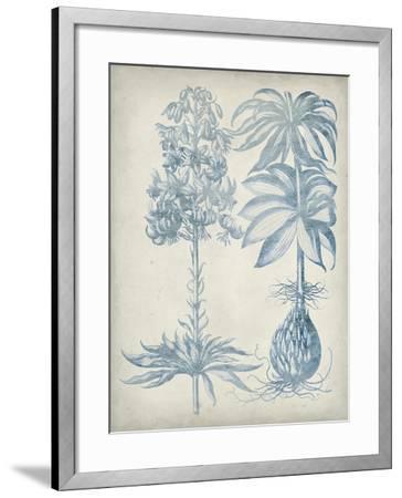 Blue Fresco Floral I-Vision Studio-Framed Art Print