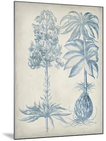 Blue Fresco Floral I-Vision Studio-Mounted Art Print