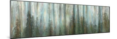 USA, Alaska, Misty Fiords National Monument. Panoramic collage of paint-splattered curtain.-Jaynes Gallery-Mounted Photographic Print