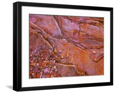 Santa Elena Canyon Abstract, Big Bend National Park-Mallorie Ostrowitz-Framed Photographic Print