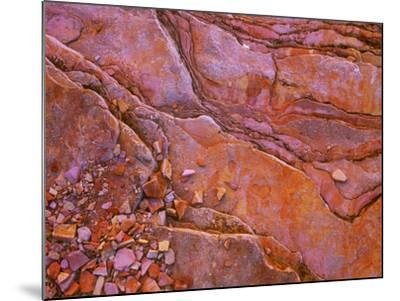 Santa Elena Canyon Abstract, Big Bend National Park-Mallorie Ostrowitz-Mounted Photographic Print