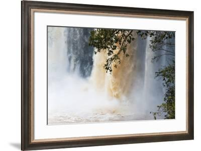 Blue Nile Falls, Bahir Dar, Ethiopia-Keren Su-Framed Photographic Print