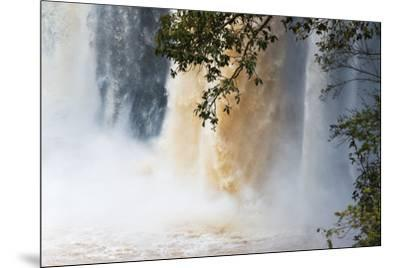 Blue Nile Falls, Bahir Dar, Ethiopia-Keren Su-Mounted Photographic Print