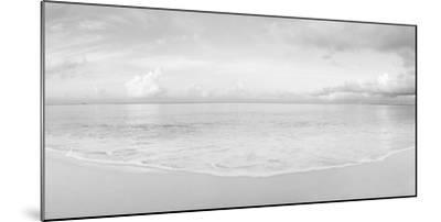 Waves on the beach, Seven Mile Beach, Grand Cayman, Cayman Islands--Mounted Photographic Print