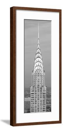 Close up of the Chrysler Building at sunset. It is the view from 42nd Street and 5th Avenue.--Framed Photographic Print